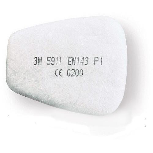 Предфильтр от пыли, дыма, тумана для защитных масок 3М 5911 Р1R