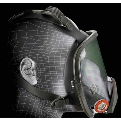 Защитная маска 3М 6800, без фильтров, средний размер