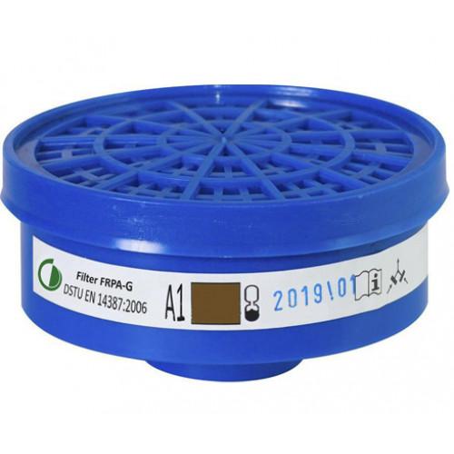 Фильтр для защитной полумаски РПА-ДЕ  Standart ФРПА-G A1
