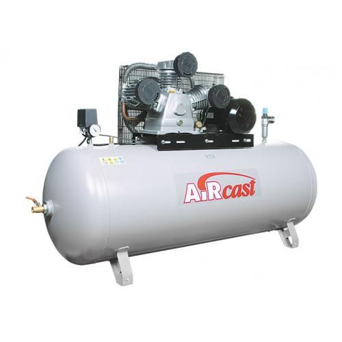 Поршневой воздушный компрессор AIRCAST СБ4/Ф-500.LB75 трехцилиндровый