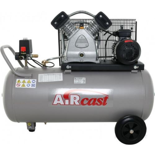 Поршневой воздушный компрессор AIRCAST СБ4/С-100.LВ30А двухцилиндровый