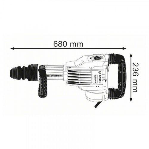 Отбойный молоток Bosch GSH 11 VC (0611336000)