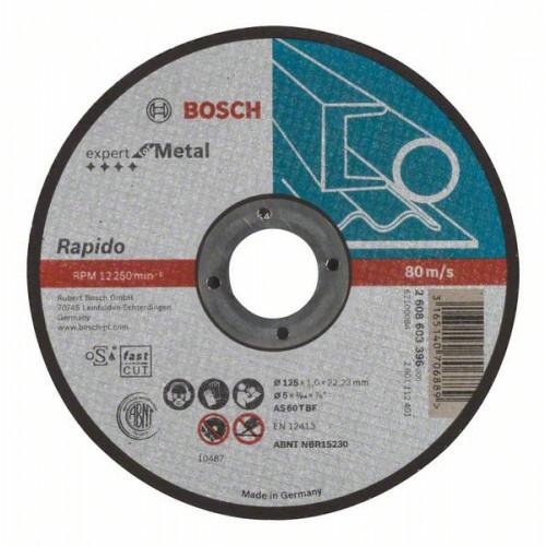Круг отрезной BOSCH 125*1*22 Expert for Metal