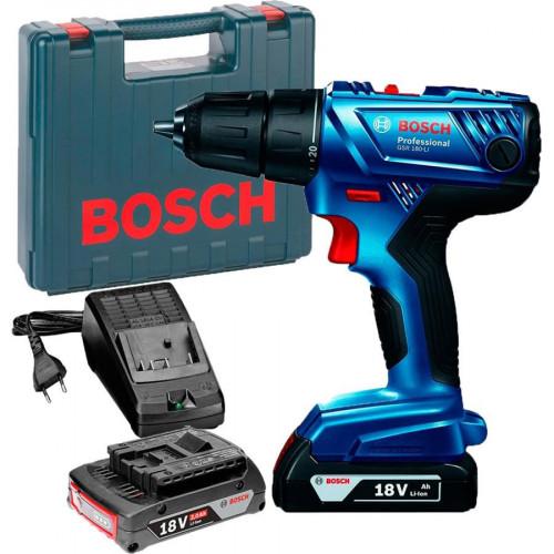 Аккумуляторный шуруповерт BOSCH GSR 180-LI Professional (06019F8109)
