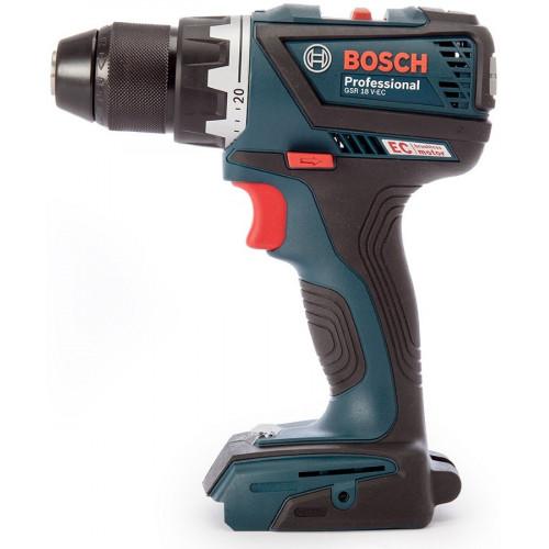 Аккумуляторный шуруповерт Bosch GSR 18V-60 C Professional бесщёточный Каркас (06019G1102)