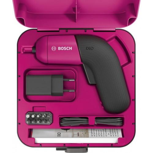 Аккумуляторная отвертка BOSCH IXO VI Colour (06039C7022)