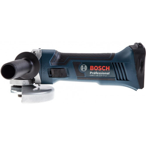 Аккумуляторная болгарка Bosch GWS 18-125 V-Li Professional Каркас (060193A307)