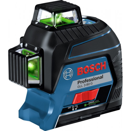 Нивелир лазерный Bosch GLL 3-80 G Professional + кейс (0601063Y00)