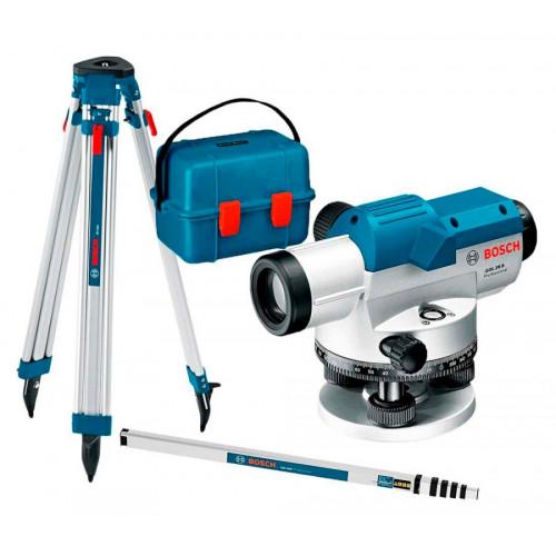 Нивелир оптический Bosch GOL 26 D Professional + BT 160 + GR 500 (0601068002)