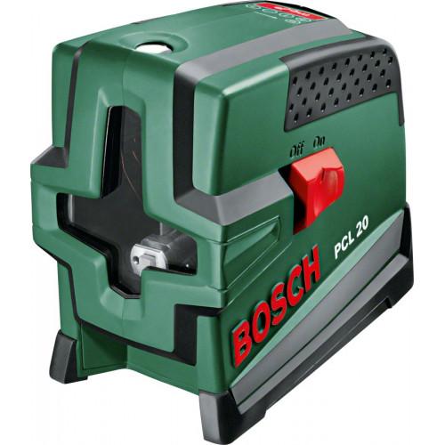 Нивелир лазерный Bosch PCL 20 линейный