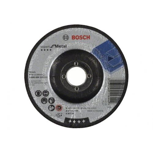 Круг зачистной BOSCH 125x6x22 A 30 T BF металл