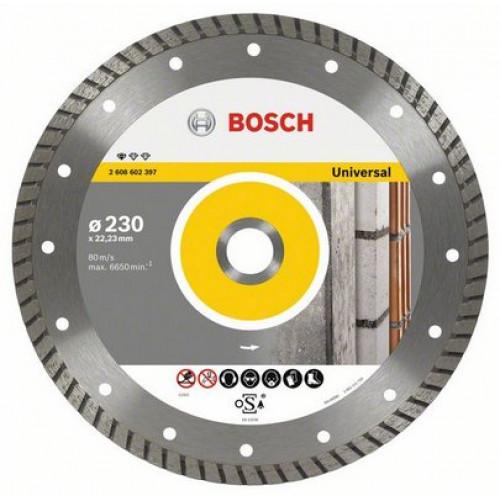Диск алмазный Bosch Professional for Universal Turbo для УШМ (180х22,2 мм)