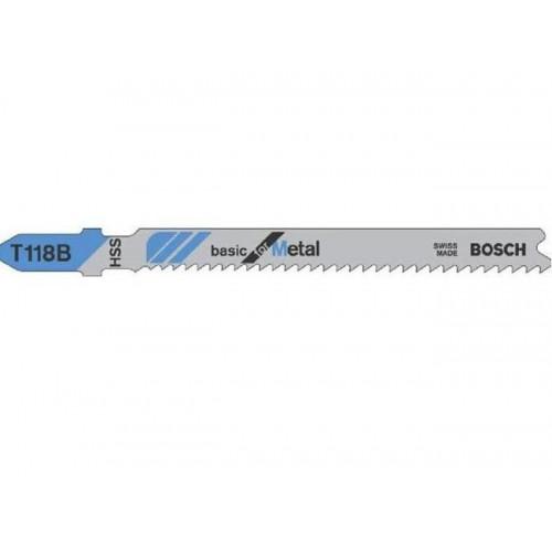 Пилка для электролобзика Bosch T 118 B, металл