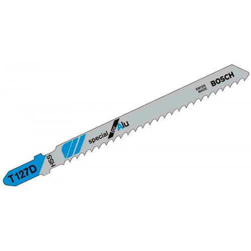 Пилка для электролобзика Bosch T 127 D, металл, алюминий