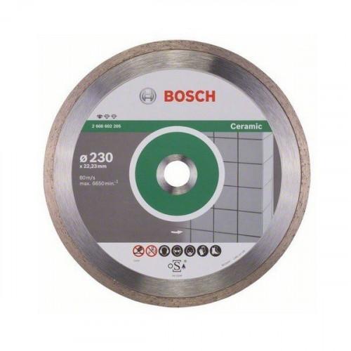 Диск алмазный Bosch по керамике 230х22,23х2,4 мм