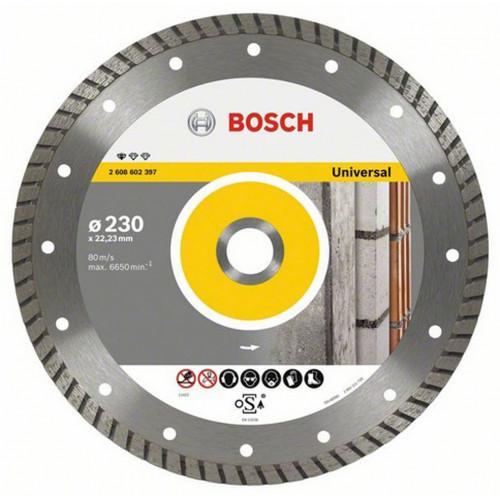 Диск алмазный  Bosch Standard for Universal Turbo 230 мм