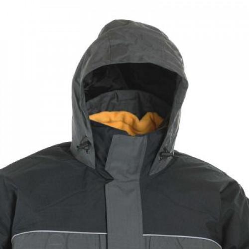 Куртка утепленная CERVA URBAN (S-XXXL) серо-черная