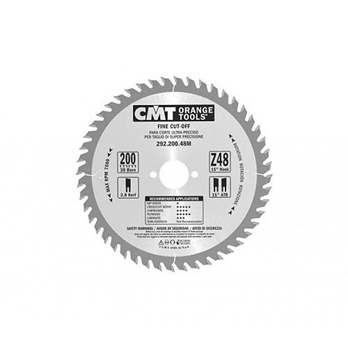 Диск пильный CMT 200х30 мм Z48, дерево