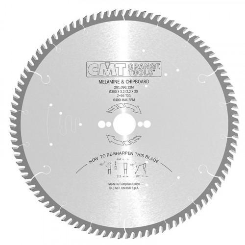 Диск пильный CMT 300х30мм Z96 ламинат