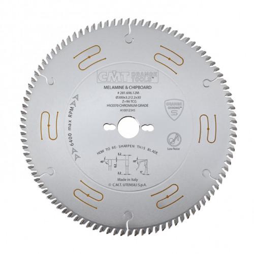 Диск пильный CMT 300х30 мм Z96, ламинат