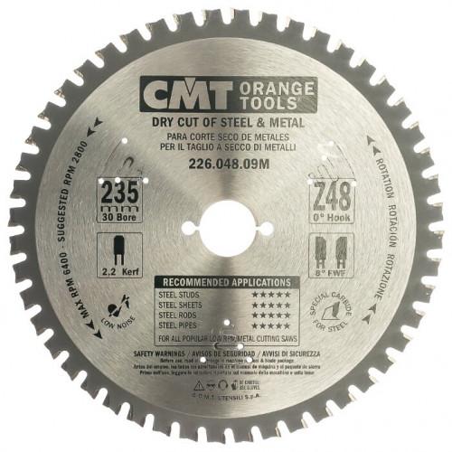 Диск пильный CMT 235х30 мм Z48, сталь