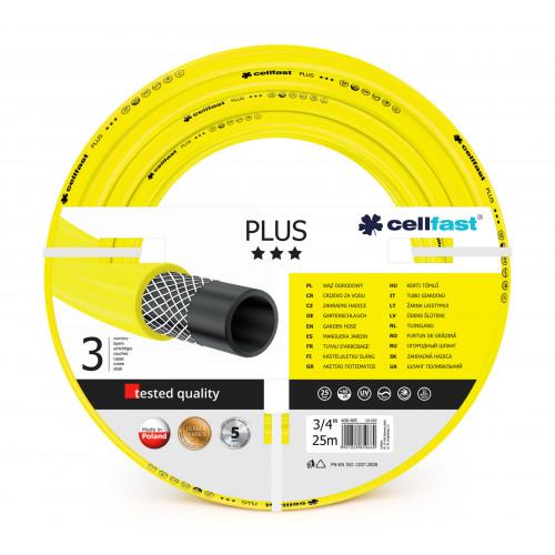 "Шланг для полива Cellfast PLUS 10-220 25 м 3/4"" желтый"