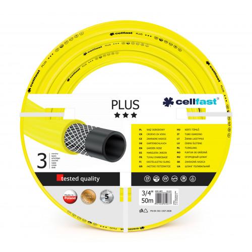 "Шланг для полива Cellfast PLUS 10-221 50 м 3/4"" желтый"