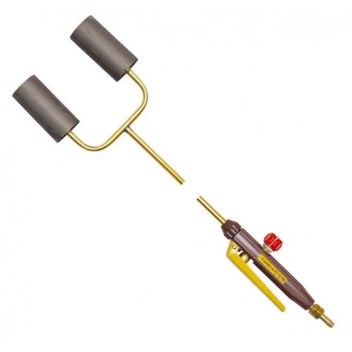 Горелка газосварочная Донмет ГВ 252 П двойная, 9 мм
