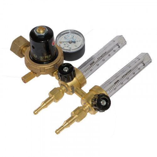Регулятор расхода газа Донмет АР-40/У-30-2ДМ, 9 мм, 2 ротаметра