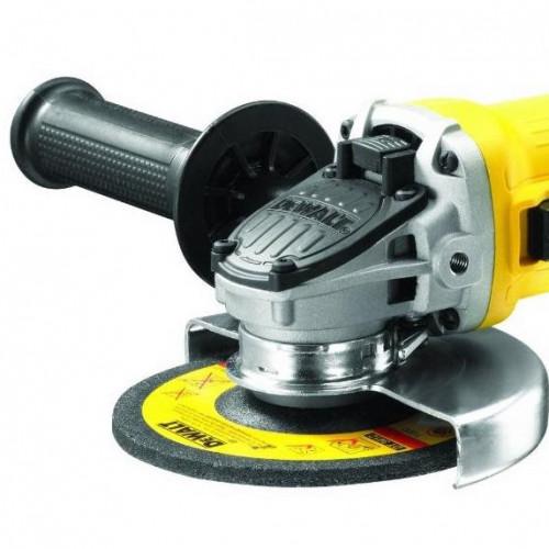 Болгарка DeWalt DWE4057 сетевая, 0.8 кВт, 125 мм (DWE4057)