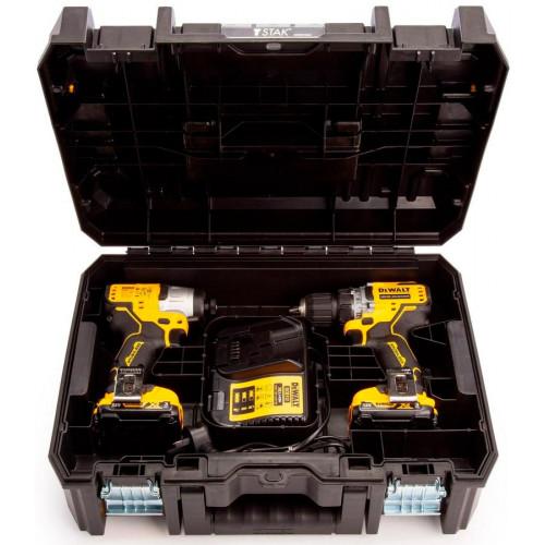 Набор аккумуляторных инструментов DeWALT DCK2110C2T (DCK2110C2T)