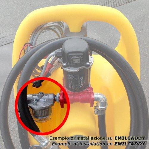 Емкость для дизтоплива Emiliana Serbatoi Emilcaddy 110, насос 24В