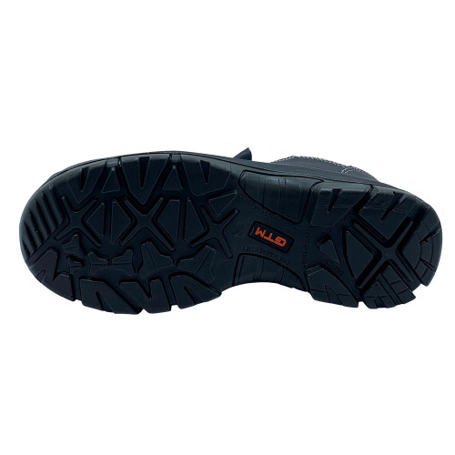 Кожаные рабочие ботинки с металлическим носком GTM SM-070C Comfort Евростандарт