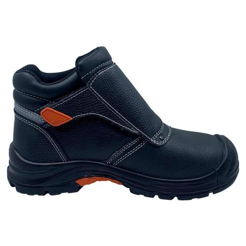 Рабочие ботинки сварщика с металлическим носком и стелькой GTM SM-072 Comfort