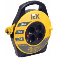 Удлинитель IEK WKP15-16-04-10 4 гнезда/10 метров