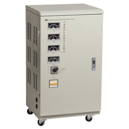 Стабилизатор напряжения ІЕК IVS10-3-15000, 15 кВА, напольный