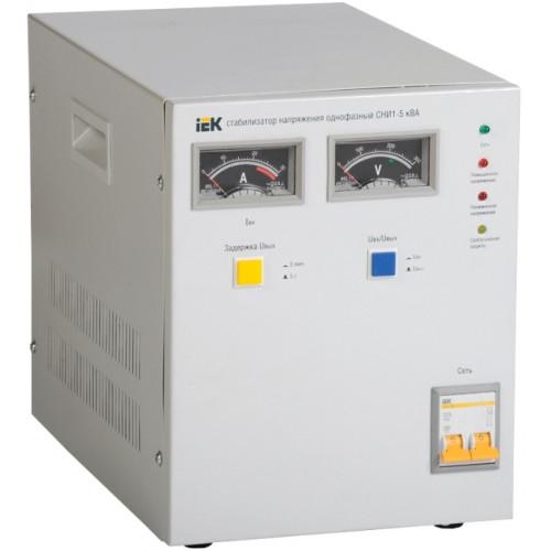 Стабилизатор напряжения ІЕК IVS10-1-05000, 5 кВА, напольный