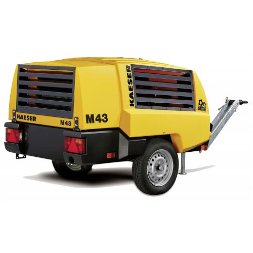 Компрессор дизельный KAESER MobilAir M 43 винтовой