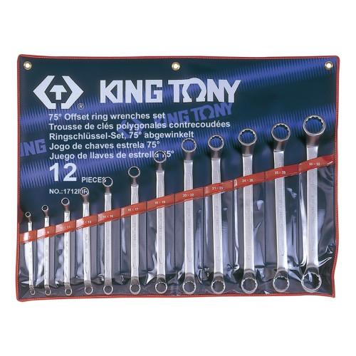 Набор накидных ключей King Tony 6-32 мм, 12 шт в чехле