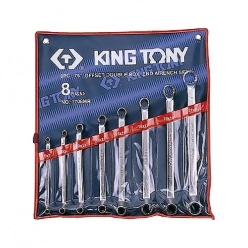 Набор накидных ключей King Tony 6-23 мм, 8 шт в чехле
