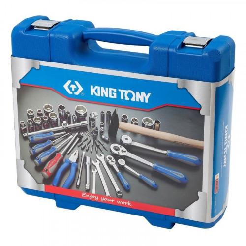 """Набор инструментов King Tony 1/4"""" и 1/2"""" 77 ед. 7577MR"""