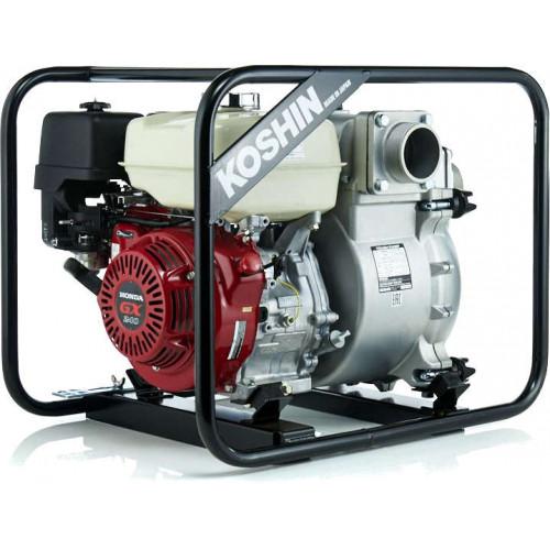 Мотопомпа бензиновая Koshin KTH-100X для грязной воды