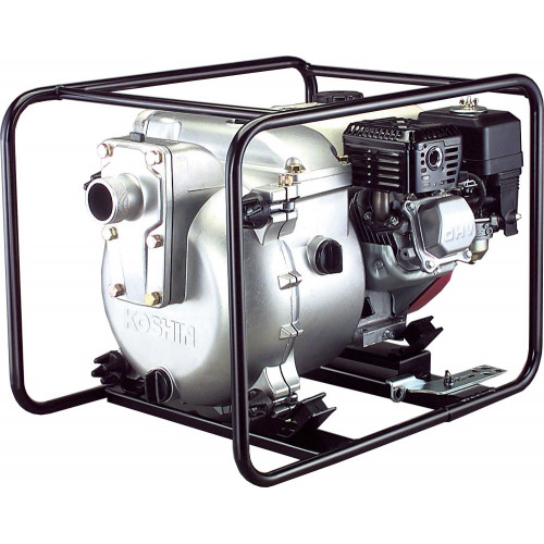 Мотопомпа бензиновая Koshin KTH-50X для грязной воды