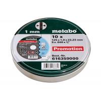 Круг отрезной Metabo 125*1*22 нержавеющая сталь