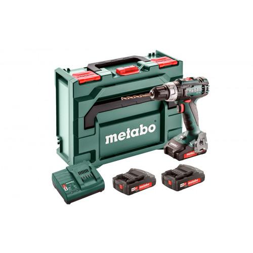 Аккумуляторный шуруповерт Metabo BS 18 L Set (602321540)