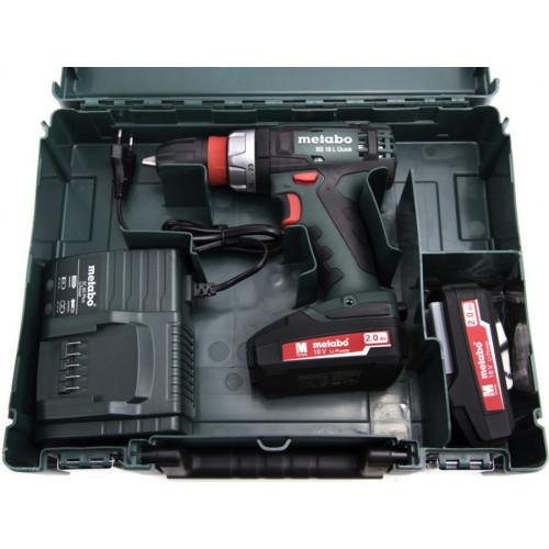 Аккумуляторный шуруповерт Metabo BS 18 L Quick (602320500)
