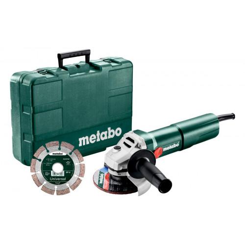 Болгарка Metabo W 1100-125 SET (603614510)