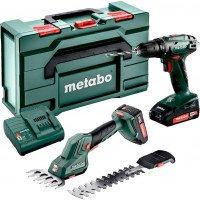 Набор аккумуляторных инструментов Metabo Combo Set 2.2.5 18V (685186000)