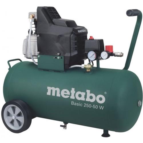 Компрессор Metabo Basic250-50W маслянный одноцилиндровый