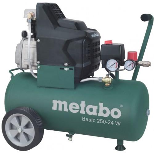 Поршневой масляный компрессор Metabo Basic 250-24 W (601533000)